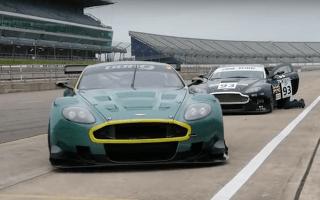 Watch a super-rare Aston Martin DBR9 GT1 rocket around Rockingham