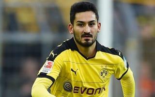 Gundogan to miss Dortmund's trip to Leverkusen