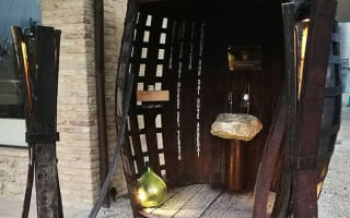 Cheers! Italian town unveils free wine fountain