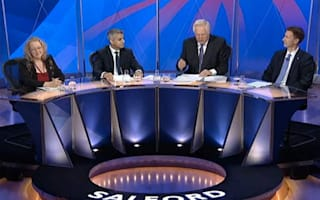 BBC Question Time seats empty after panelists stuck on train following fire