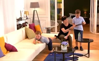 British family treated to a night in Eiffel Tower apartment