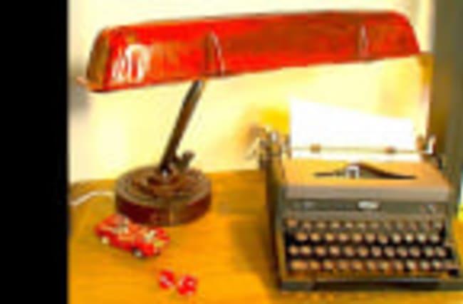 Make a Steampunk Desk Lamp Using Car Parts