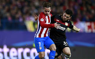 Atletico Madrid 0 Bayer Leverkusen 0 (4-2 agg): Simeone's side cruise into quarter-finals