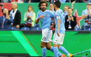 One of the best goals I've ever seen - Pirlo, Vieira hail Villa wonderstrike
