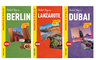 Win! A set of Marco Polo Spiral Guides to Berlin, Dubai and Lanzarote