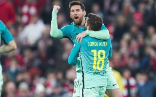 Messi better to watch than 'genius' Ronaldo - Alba