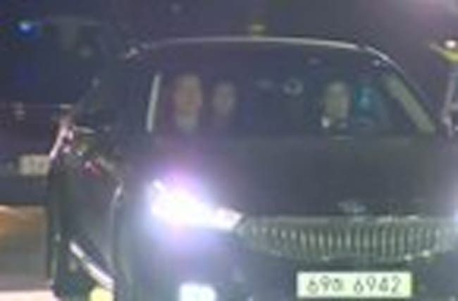 South Korea's ousted leader Park Geun-hye arrives at detention centre