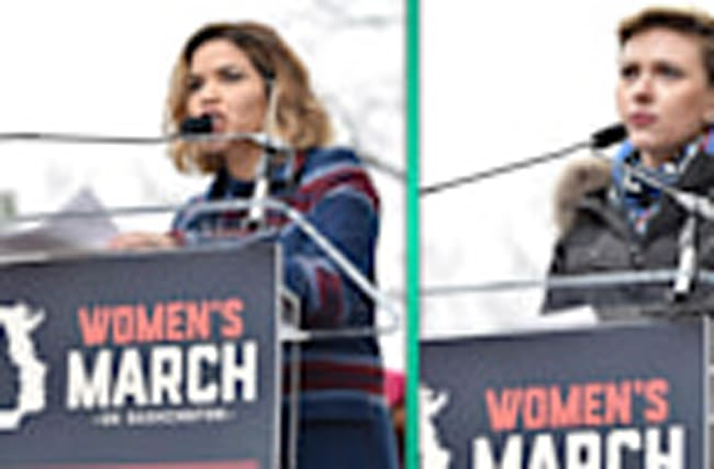 Women's March 2017: Madonna, Scarlett Johansson & America Ferrera Share Powerful Speeches