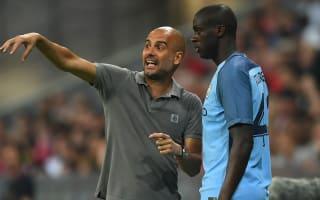 Toure set for first league start under Guardiola
