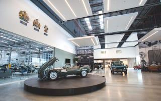 Jaguar Land Rover open doors to its 'Classic Works' factory