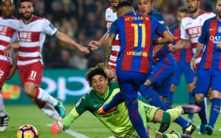 Barca were focused on dogged Granada, insists Sergi Roberto