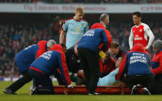 Burnley lose Marney to season-ending cruciate ligament damage