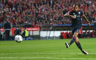 Benfica 2 Bayern Munich 2 (2-3 agg): Vidal, Muller send Guardiola's men through