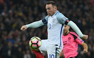 Rooney only out through injury, Southgate insists