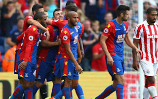 Crystal Palace 4 Stoke City 1: Townsend stars as Palace run riot