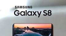 Aparece una lista de especificaciones técnicas del Galaxy S8+