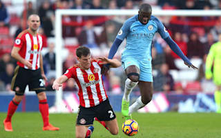 Manchester City made to suffer in Sunderland win, says Yaya Toure