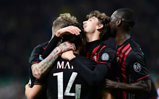 Montella optimistic over Milan's chances to qualify for Europe