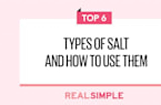 6 Types of Salt and How to Use Them