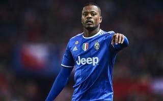 Evra wants more playing time at Juventus