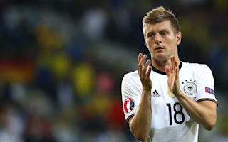 Kroos: It was Germany's best performance of the tournament