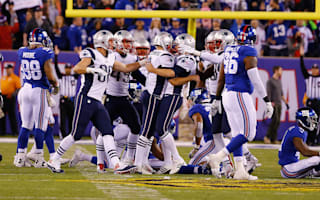 Patriots rally past Giants, Lions win at Packers