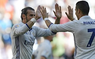 Ronaldo still the best despite changing role - Bale praises star Madrid team-mate