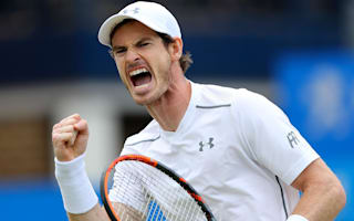 Murray makes history with comeback win at Queen's