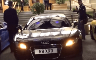 Audi driver keeps thieves away - with Star Wars-themed alarm