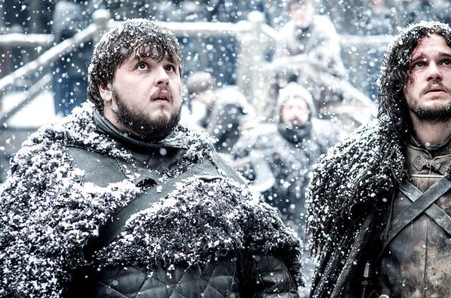 Resulta que hace más frío del esperado en el famoso invierno de 'Juego de tronos'