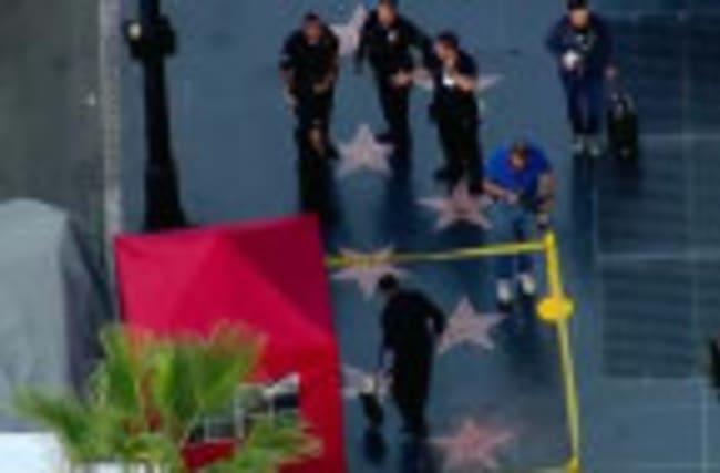 Trump's Hollywood star vandalized