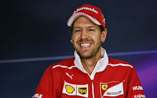 I'm not clever enough for that! - Vettel laughs off Hamilton mind games