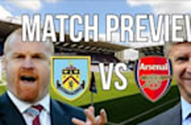 Burnley vs Arsenal - Premier League match preview