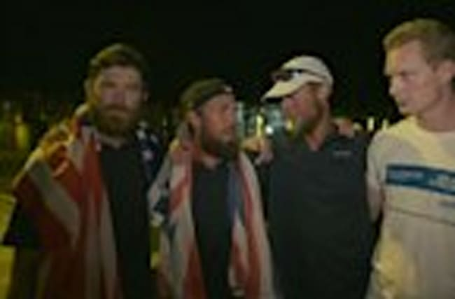 British-American team breaks Atlantic rowing record