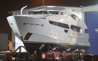 Eddie Jordan's £32million yacht unveiled for the first time