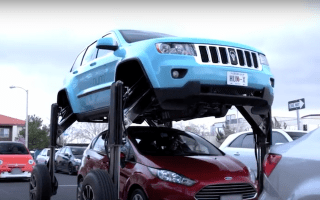 Modified Jeep can beat the rush hour