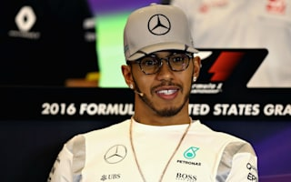 Hamilton '100 per cent' fit after foot injury