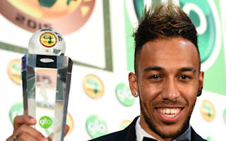 Aubameyang delighted with CAF Player of the Year crown