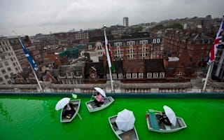 Willy Wonka? No, Selfridges opens green rooftop boating lake