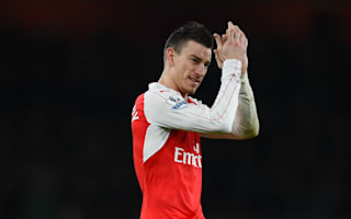 Koscielny understands Arsenal fans' frustrations but backs Wenger