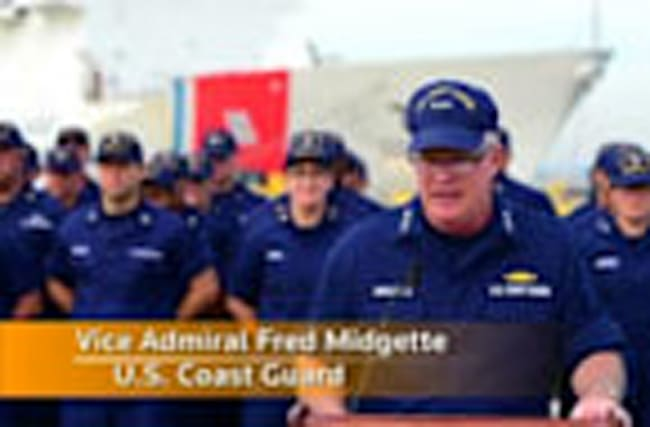 US Coast Guard reports record cocaine haul