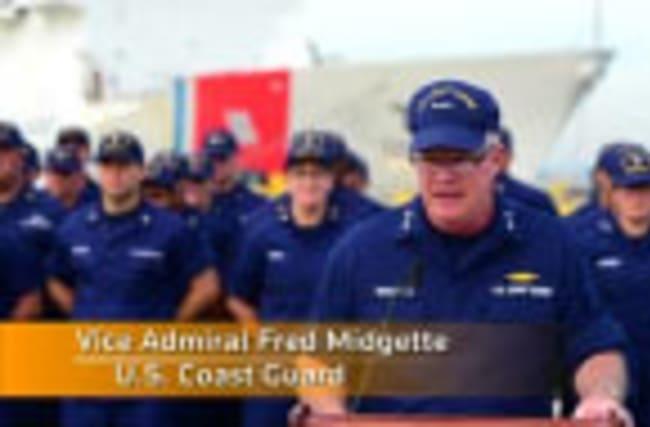 US Coast Guard reports record cocaine haul