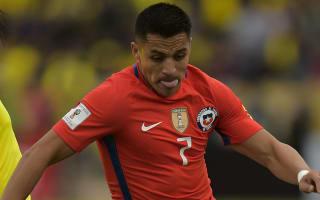 Sanchez starts for Chile despite Wenger fears