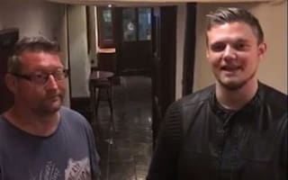 Pub landlord confronts 'demon' during dramatic Facebook Live