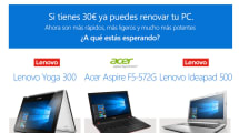 Microsoft quiere que estrenes PC con Windows 10 por 30 euros al mes