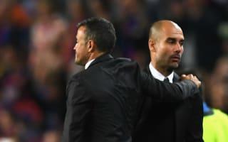 Guardiola understands Luis Enrique leaving Barcelona