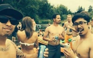 Has she forgotten her bikini bottoms? Optical illusion goes viral