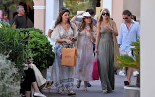Princess Beatrice hits the shops in St Tropez