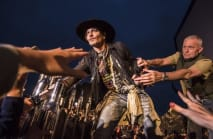 Johnny Depp jokes about Donald Trump assassination at Glastonbury event