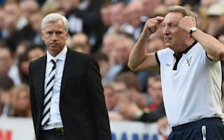 Pardew hits out at Warnock over Austin comments